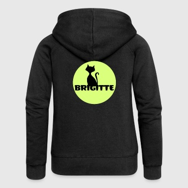 Brigitte First name name day gift - Women's Premium Hooded Jacket