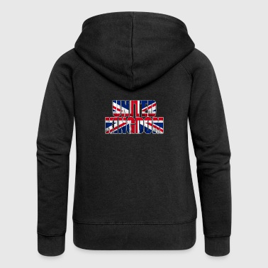 United Kingdom - Frauen Premium Kapuzenjacke
