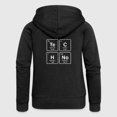 Techno - Party Shirt - lustiges Geschenk - Frauen Premium Kapuzenjacke