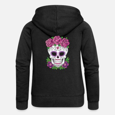 Sugar Skull SUGAR SKULL 01 - Women's Premium Hooded Jacket