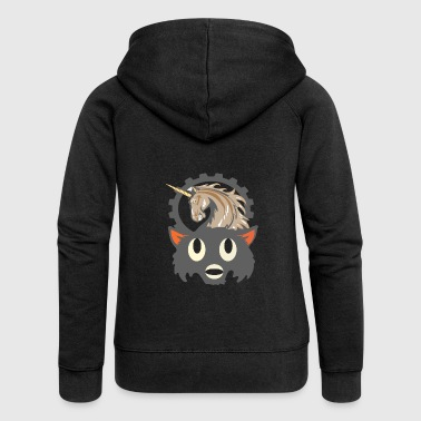 Unicorn Hooded Unicorn Halloween shirt design, Halloween unicorn - Women's Premium Hooded Jacket