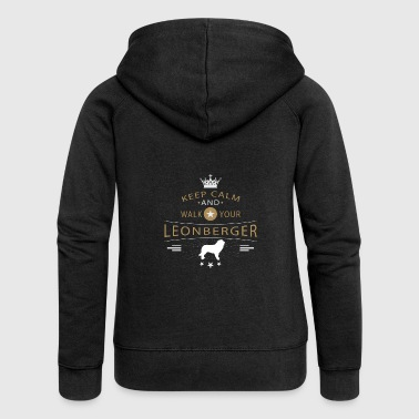 Leonberger shirt - Women's Premium Hooded Jacket