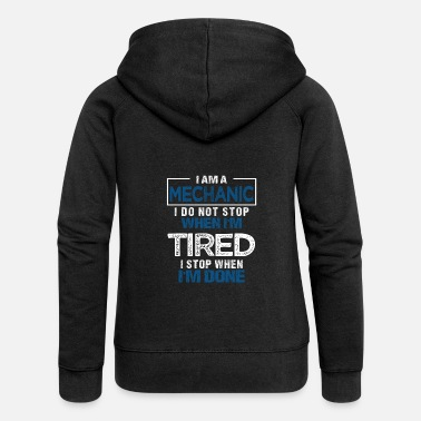 Car Mechanic Mechanic Gift Mechanic Mechanic Car - Women's Premium Hooded Jacket