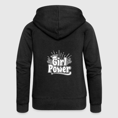 Girl Power - Girl Power - Women's Premium Hooded Jacket