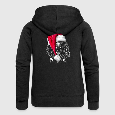 ENGLISH SPRINGER SPANIEL Christmas - Women's Premium Hooded Jacket