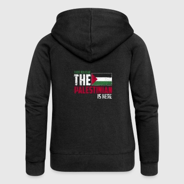 Palestinian Have no fear the palestinian is here - Women's Premium Hooded Jacket
