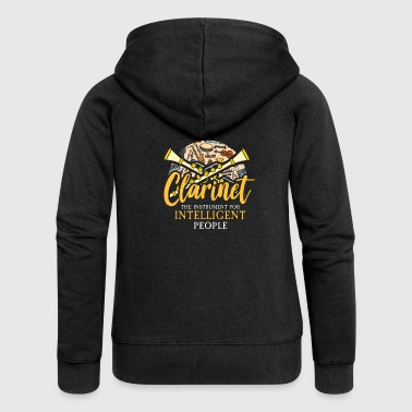 clarinet - Women's Premium Hooded Jacket