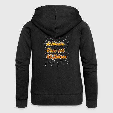 40th Birthday Shirt Gift Funny - Women's Premium Hooded Jacket