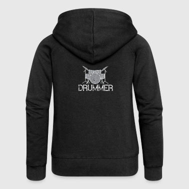 Band Drummer Band - Women's Premium Hooded Jacket