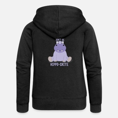 Hippo Hippo - Women's Premium Hooded Jacket