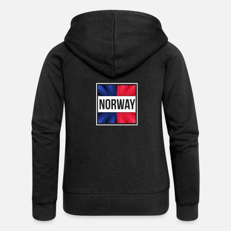 Norvège Veste Femme Spreadshirt Capuche Premium À rq1wycCqB