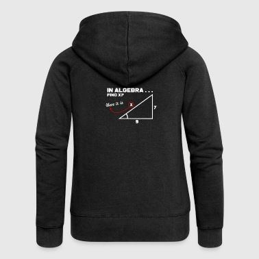 maths - Women's Premium Hooded Jacket