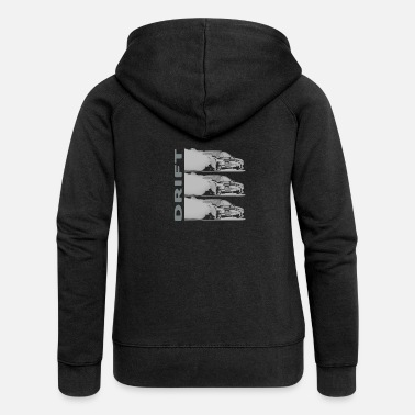 Drifting DRIFT dark - Women's Premium Hooded Jacket