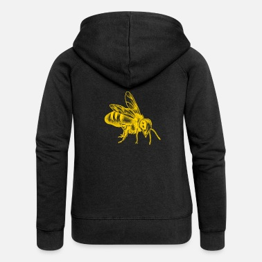 Bee Honey Bee - Women's Premium Hooded Jacket