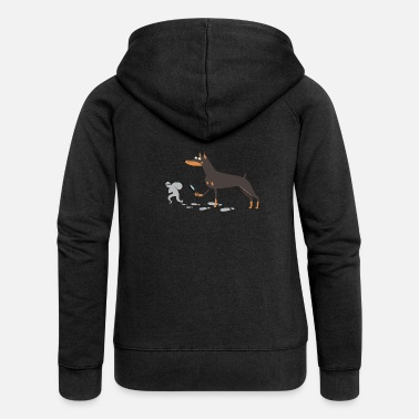 Doberman Pinscher Doberman Pinscher Gift Idea - Women's Premium Zip Hoodie