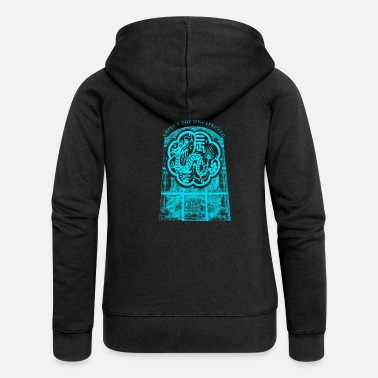 Mythical Beast The mythical beast dragon head monster creature - Women's Premium Zip Hoodie