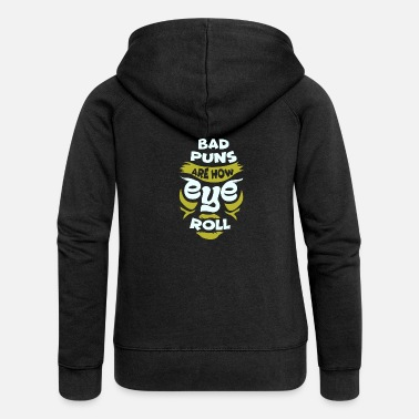 Bad Word Game - Sarcasm Joke - Gift - Women's Premium Zip Hoodie