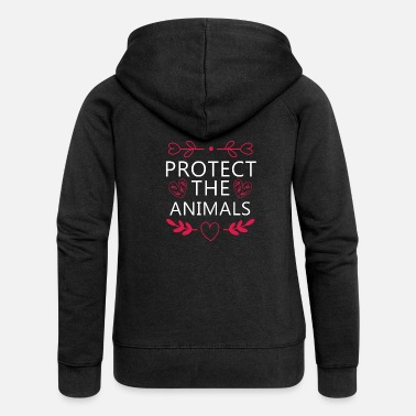Animal animal welfare - Women's Premium Zip Hoodie