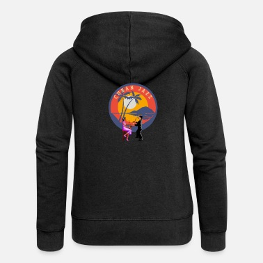 Cuban Jazz T-Shirt - Women's Premium Zip Hoodie