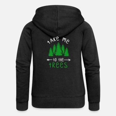 Camp Funny Nature Camping Nature Mr Lady Man Saying - Vrouwen zip hoodie