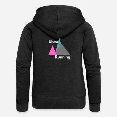 Mountain Running UltraRunning mountains mountain run - Women's Premium Zip Hoodie