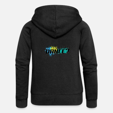 Chant Music songs are you ready to dance - Women's Premium Zip Hoodie
