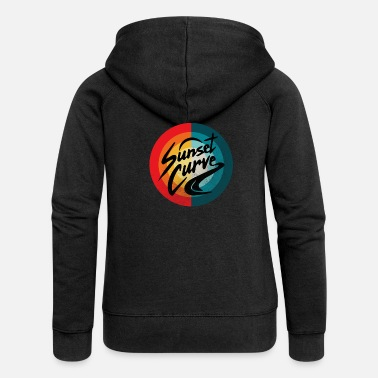 Memorial Day Vintage Julie Phantoms Sunset - Women's Premium Zip Hoodie