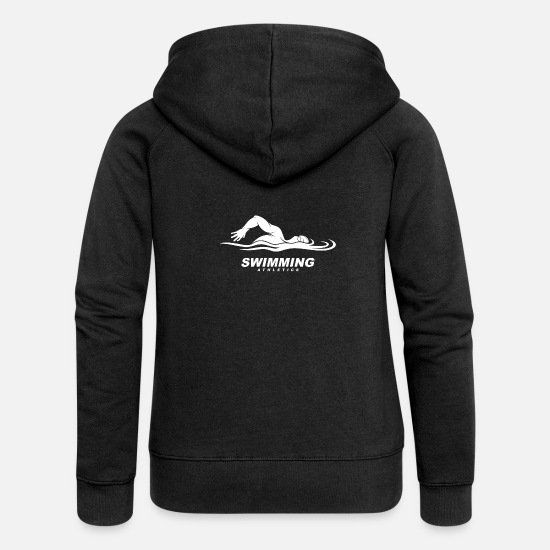 Swim Hoodies & Sweatshirts - swim - Women's Premium Zip Hoodie black