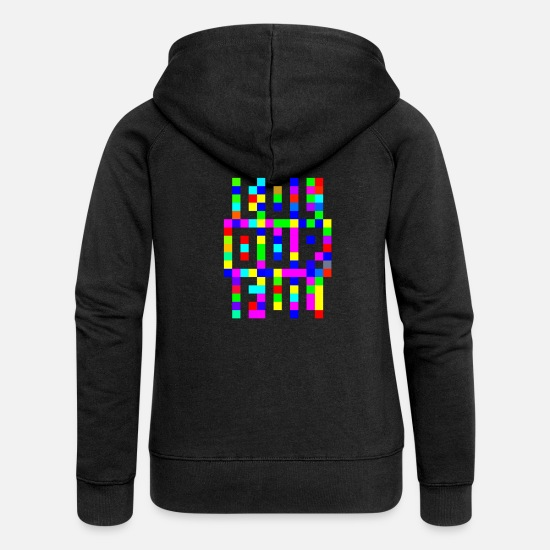 Fuel Pullover & Hoodies - col our ful - colourful - Frauen Premium Kapuzenjacke Schwarz
