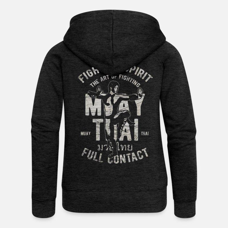 Muay Thai Kapuzen-Sweatshirt Hoodie Pullover MMA Kampfsport Thai-Boxen Fight