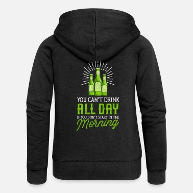 St Paddys Day St Patrick's Day Irish Ireland Drunk Beer Paddy - Women's Premium Zip Hoodie