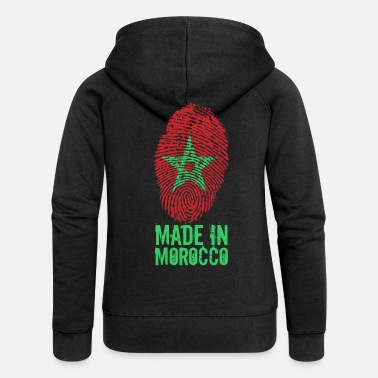 Made In Usa Made in Maroc / Made in Maroc المغرب - Veste à capuche Premium Femme