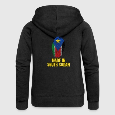 Made In South Sudan / South Sudan - Women's Premium Hooded Jacket