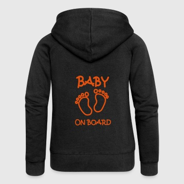 Baby Baby on board - Women's Premium Hooded Jacket