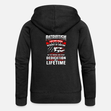 Patriot PATRIOTISM - Women's Premium Hooded Jacket
