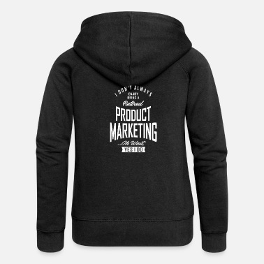 Production Year Gift for Product Marketing - Women's Premium Zip Hoodie