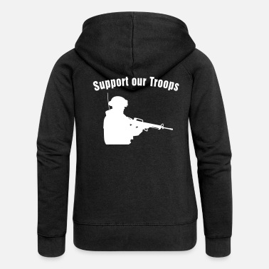 Troops Support our Troops / soldier - Naisten premium hupputakki