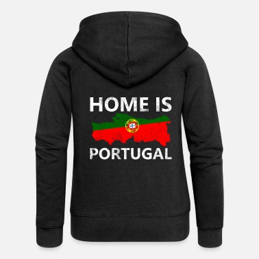 Portugal Portugal - Women's Premium Hooded Jacket