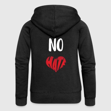 No hate - Women's Premium Hooded Jacket