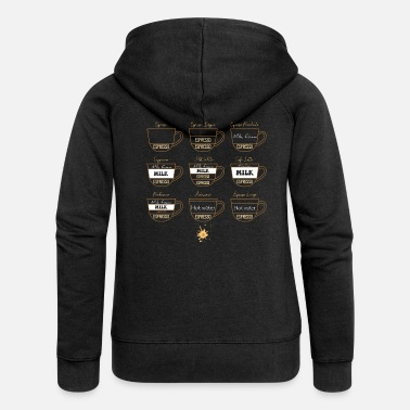 Collection 0222 Coffee | Collection | coffee lovers - Women's Premium Zip Hoodie