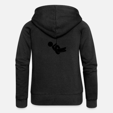 Children S Room Child On A Swing - Women's Premium Zip Hoodie