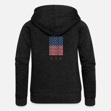We Are Boston USA - Women's Premium Zip Hoodie