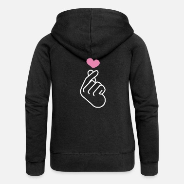 Finger K Pop Finger Korean Pop K-Pop Snap Musik Geschenk - Frauen Premium Kapuzenjacke