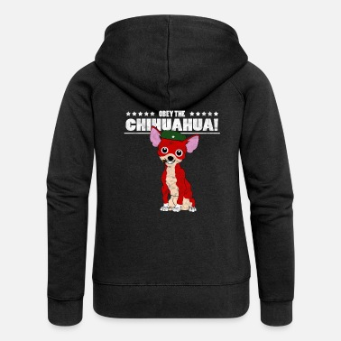 Che Guevara Obey the Che Revolutions Chihuahua Gift - Women's Premium Hooded Jacket