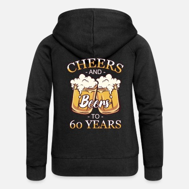 Year Of Birth 60th birthday 60 years 60s pension year of birth - Women's Premium Zip Hoodie