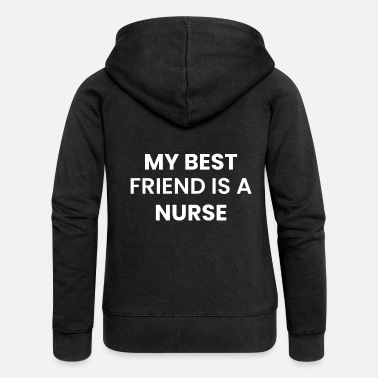 Nurse Nurse girlfriend boyfriend - Women's Premium Zip Hoodie