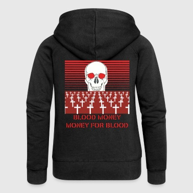 BLOOD MONEY - Women's Premium Hooded Jacket