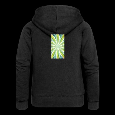 Trippy Spiral - Women's Premium Hooded Jacket