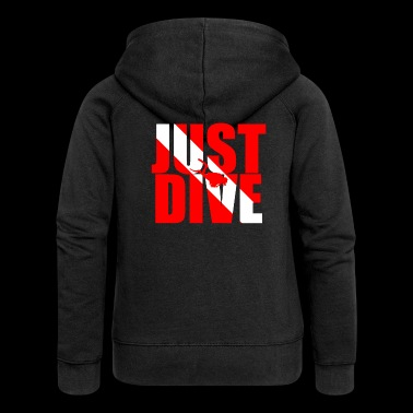 Just Dive Diving Gift - Premium luvjacka dam
