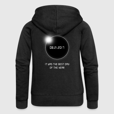 Total Solar Eclipse. Christmas Gifts.The Best Day. - Women's Premium Hooded Jacket